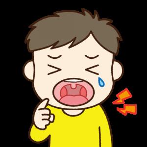 子どもが転んで前歯をぶつけてしまった!対処法は?
